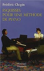 Esquisses pour une méthode de piano
