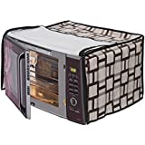 Stylista Microwave Oven Cover for LG 28 L Convection MC2886BRUM, Geometric Pattern