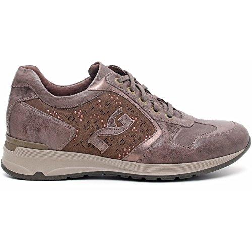Nero Giardini Sneaker Damen Leder/Wildleder a513372d Rodeo Verdegris