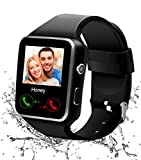 Reloj Inteligente Bluetooth, Smartwatch Pantalla Táctil Impermeable Smart Watch con Camara,Reloj Bracelet para Android Teléfono Hombre Mujer Niño Niña