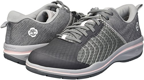 Timberland PRO Women s Healthcare Sport Soft Toe Health Care Professional Shoe  Grey  9 M US