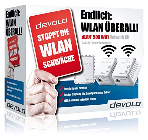 dLAN 500 WiFi Network Kit - 5