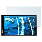 atFoliX Displayschutzfolie für Garmin Camper 770 LMT-D Schutzfolie - 3 x FX-Clear kristallklare Folie