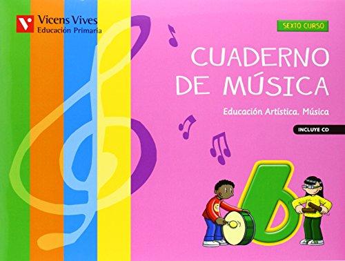 CUADERNO DE MUSICA 6+CD: Cuaderno De Música 6 (+CD): 000002 - 9788468214214 por Matilde Perez Calafell
