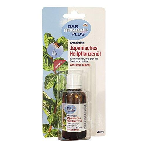 DAS gesunde PLUS Japanisches Heilpflanzenöl (30ml Flasche)