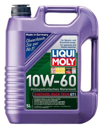 liqui-moly-1391-synthoil-race-tech-gt1-10w-60-aceite-antifriccion-sintetico-para-motores-de-automovi