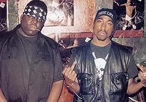 """Biggie & Tupac -- Notorious B.I.G. & Tupac Shakur Poster Größe 11.7"""" x 16.5""""- 297mm x 420mm Poster"""
