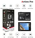 #6: SJCAM SJ6 Legend 1 x SJCAM 6 EXTRA Battery 1 x SJ 6 4K Wifi Action Camera Dual Screen 16MP Remote Waterproof Sports Cam- TouchScreen/0.9 Front LCD Screen/170 Degree Wide Angel/Gyro Stabilization/External Microphone Supported- Black