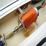 """Flex Collet accoppiatore per 2,4mm motore albero e 3,18mm (1/8"""") Flex cavo RC barca"""