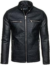 BOLF - Veste - Faux cuir - Fermeture éclair – FEIFA 9123 – Homme
