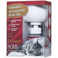 Felisept Home Comfort Set/Entspannungsmittel für Katzen mit natürlicher Katzenminze/Starter Set mit Diffusor inkl. Flakon (1 x 30ml)