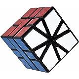 Coolzon Puzzle Cubo Extraño Giro Especial en Forma de, 55 mm, Color Negro