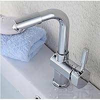 Moderno/contemporaneo lusso elegante cucina rubinetti miglior moderno rame commerciale singola maniglia cucina/bagno lavabo rubinetto