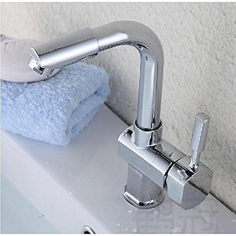SUN-Miglior commerciale moderna Rame singola maniglia lavandino rubinetto da cucina