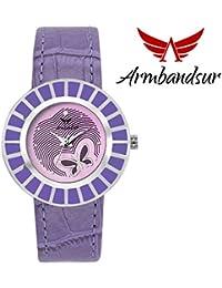 Armbandsur purple elegant watch for women-ABS0065GSP