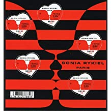 France 2018 MNH Kiss Valentines Day Sonia Rykiel 5v M/S Heart Shaped Stamps Love