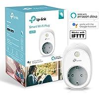 TP-Link Kasa Smart WLAN Steckdose, funktionieren mit Amazon Alexa (Echo und Echo Dot, Google Home und IFTTT, Kein Hub erforderlich, Steuern Sie Ihre Geräte von überall aus)