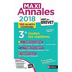 Annales Brevet