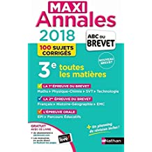 Maxi Annales ABC du Brevet 2018