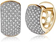 YouBella Crystal Gold Plated Stylish Earrings for Girl's and Wom