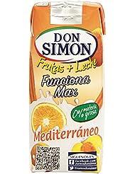 Don Simon Fruta + Leche Mediterraneo Zero materia grasa (Sin Azucar) 3 x 330ml