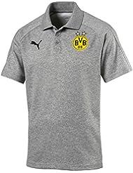Puma Herren Bvb Casual Without Sponsor Logo Polo