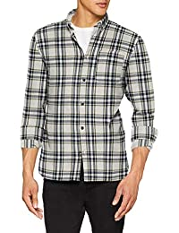 JACK & JONES Jorchris Shirt LS One Pocket, Camisa para Hombre