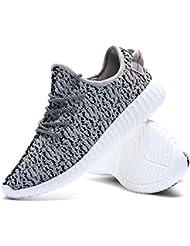 DianSen - Zapatillas de algodón para hombre Negro negro