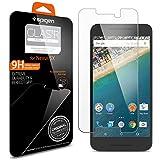 Protection écran Nexus 5X, en Verre Trempé, Spigen® **Easy-Install Kit** [Extreme Résistant aux rayures] **Ultra Clair** protection verre trempé Nexus 5X, Protection écran Google Nexus 5X SGP11815