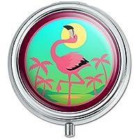 Flamingo Palmen Tropical Vacation Pille Fall Schmuckkästchen Geschenk-Box preisvergleich bei billige-tabletten.eu