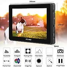 VILTROX® DC-70HD 4K HDMI Output 7 inch Camera Video Field Monitor IPS Full HD 1920x1200 HDMI AV Input for DSLR Canon Nikon Sony Camcorder