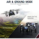 JJRC H40WH 2.4G 4CH 6-Axis WIFI FPV 720P HD 360 Degree Rotate Camera Altitude Hold Mode (2 In 1) Tank & Drone (Support Air & Ground Mode)