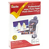 Inkrite PPIPG21064100 PhotoPlus Professional Paper Photo Gloss 210gsm 6x4 (100 sheets)