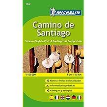 Camino de Santiago Michelin Zoom Map 160 (booklet format) (Michelin Kaarten Zoom) by Michelin (2010-01-07)