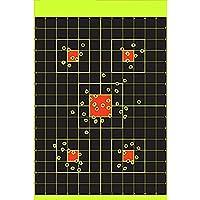 JQIWM 30.5 * 45.7 Cm Adhesivo Stick & Salpicaduras Reactiva Objetivos De Disparo – Pistola Rifle Pistola Pistola De Airsoft BB Pellet Pistola Rifle De Aire 25 PCS