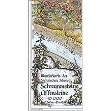 Schrammsteine·Affensteine 1 : 10 000