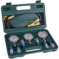 Kit de Prueba de Presión Hidráulica para Excavador con Prueba de Acoplamiento de Manguera y Manómetro