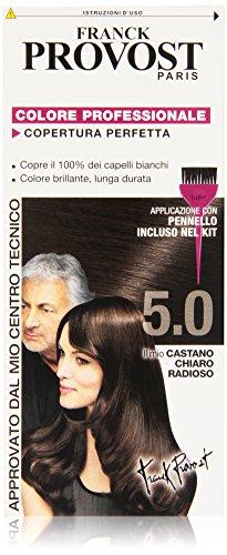 Franck Provost Colore Professionale Copertura Perfetta, 5.0 Castano Chiaro Radioso