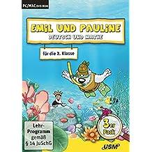 Emil und Pauline 3 in 1 Bundle - Deutsch und Mathe für die 2. Klasse