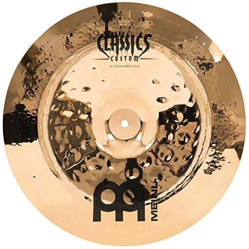 Meinl Cymbals CC16EMCH-B Classics Custom Extreme Metal Serie 40,6 cm (16 Zoll) China Brilliant Becken (Meinl Classics Custom)