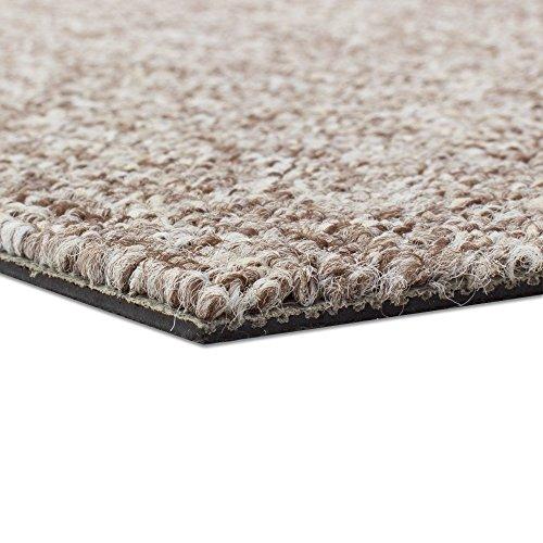 Teppichfliesen Diva 50x50cm selbstliegend Bodenbeläge, Farben:Beige