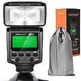 Neewer NW610 Manueller Blitz Speedlite mit LCD Display für Canon Nikon Panasonic Olympus Pentax mit...
