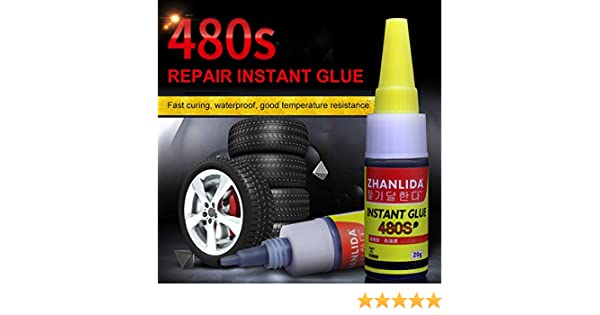 TaiRi Mighty Tire Repair Glue 480s