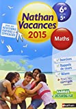 Nathan Vacances Maths de la 6e vers la 5e