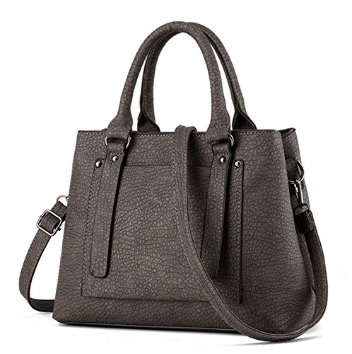 Flada, Borsa tote donna grigio Grey medium Grey