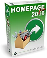 HomepageFIX 2016 - Homepage Designer zum einfachen Erstellen von Internetseiten ohne HTML Kenntnisse - der Homepagedesigner für Jedermann