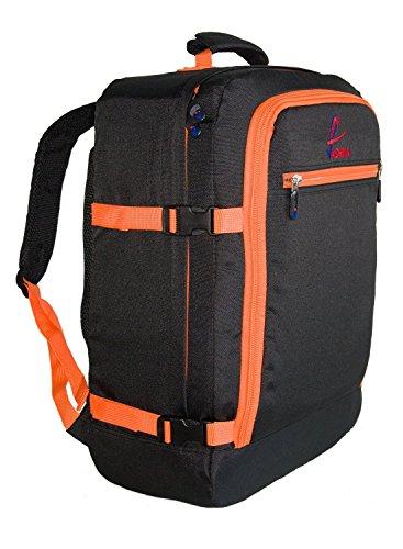 Zaino Vaska approvato come bagaglio a mano capacità 44 litri 55x40x20 cm - Arancione