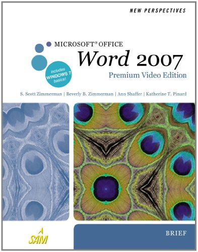 New Perspectives on Microsoft Office Word 2007, Brief (New Perspectives (Course Technology Paperback))