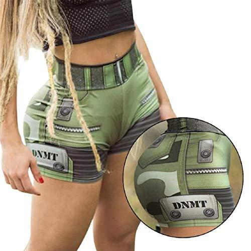 Shorts Bequeme Kurze Hosen Ultraweiche Nahtlose Lange Slips für Unterkleider Leggings und Yoga Sports ()