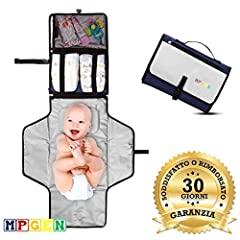 Idea Regalo - Fasciatoio Portatile Pieghevole Da Viaggio Per Neonato MPGEN Impermeabile Imbottito Materassino Bambino Ottima Idea Regalo